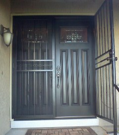 double entry door